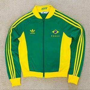 Adidas Brazil Soccer Track Jacket Women's Small